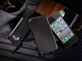 monCarbone HoverCoat iPhone 4 and iPad Case 碳纖維保護殼產品