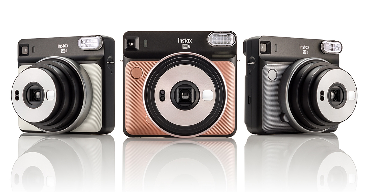 Fujifilm 推出 instax 系列新款拍立得相機 SQUARE SQ-6