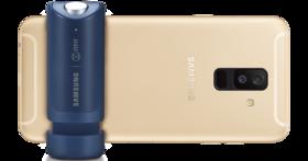 三星 Galaxy A6+ 美拍機登場,買就送美拍把手自拍更方便