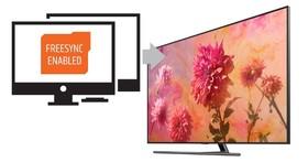 Samsung 讓電視更適合打電動,2018 年式 QLED 與 NU8000 藉韌體更新支援 FreeSync