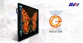 圓展互動式觸控螢幕AVer CP754i,獲得美國EdTech Digest最酷工具獎