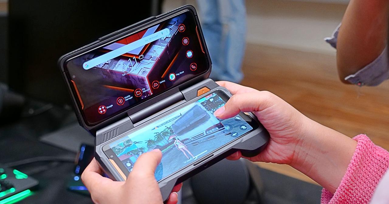 手機/掌機/桌機自在變換,ASUS 電競手機 ROG Phone 同場4大配件讓你玩更狂