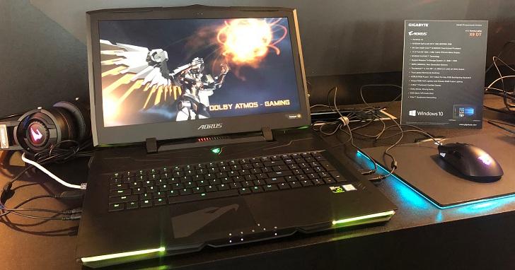 GIGABYTE 電競筆電齊登場,Sabre 搭 Intel Core i7+ 平台亮相、AORUS X9 DT 升級 Intel Core i9 處理器 | T客邦