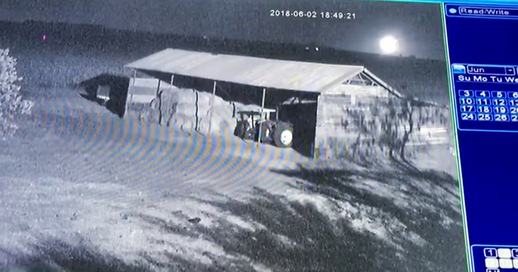史上第三起!小行星被發現數小時後即墜落地球,監視器影片意外錄下全過程