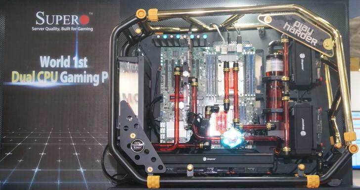 Computex 2018:40核心!Super Micro發表雙Intel Xeon電競概念機 | T客邦