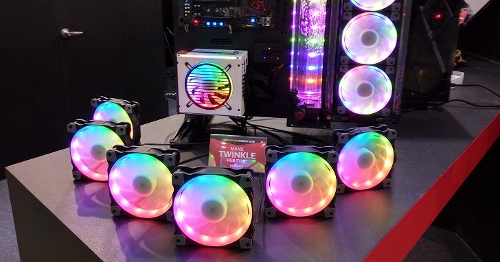 Computex 不能沒有 RGB!從鍵盤、機殼、主機板到風扇都要閃亮,一次看完展場中炫麗的「光害」產品 | T客邦