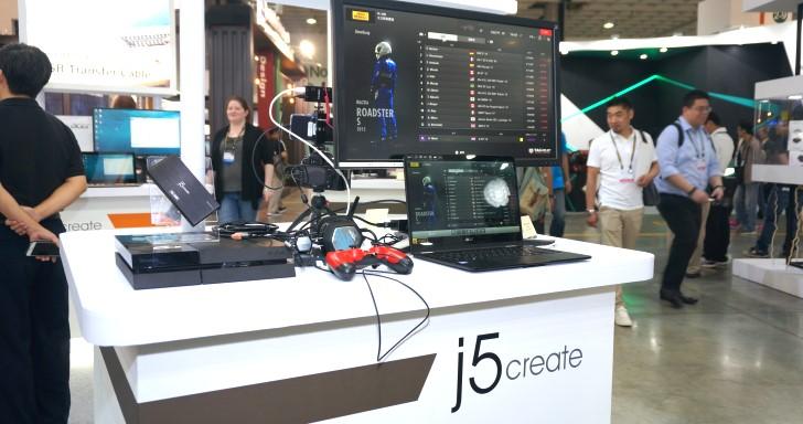 Computex 2018:j5 Create推出直播專用影像擷取盒,手機直播也能有超清晰畫質