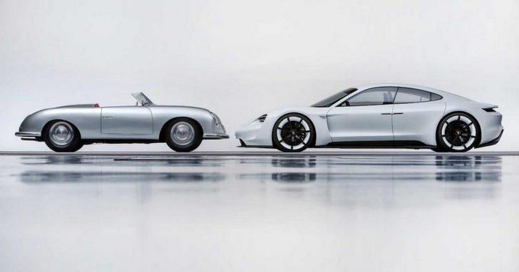 保時捷 70 歲生日宴,端出了 911 概念車和首代電動車型