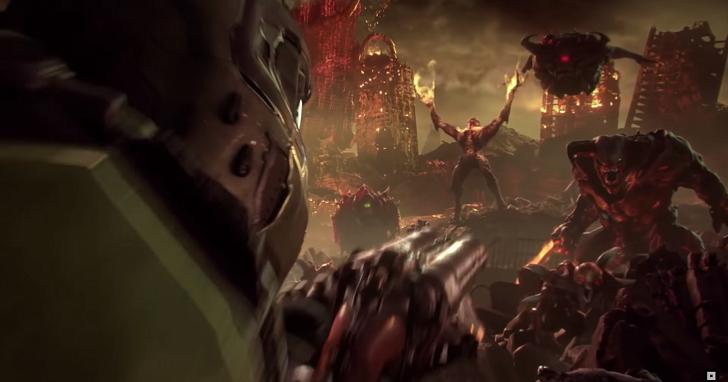 能在 Switch 上玩到《毀滅戰士》還不夠,Bethesda 為玩家準備了續作《Doom Eternal》!