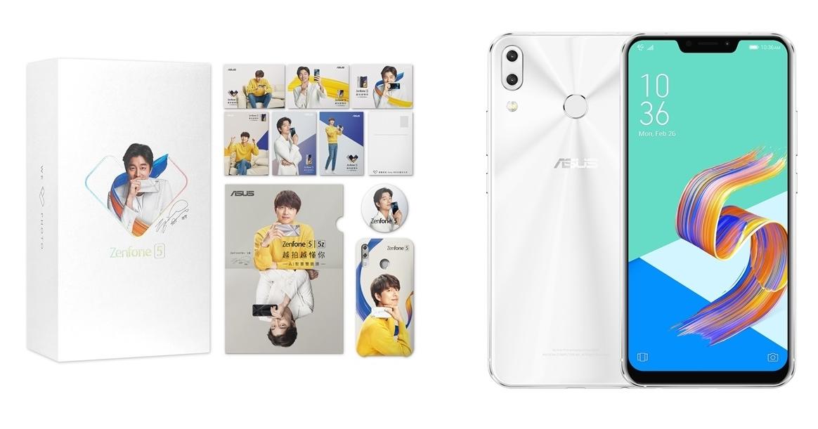 「孔劉限定版」ZenFone 5 在 6/24 開賣,搭贈孔劉人形立牌、孔劉包裝盒