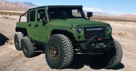 又一輛六輪怪物!Bruiser Conversions打造Jeep Wrangler 6x6,擁有450hp的硬漢坐駕!
