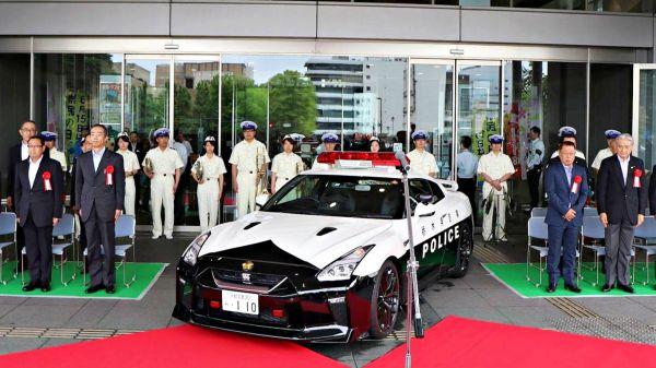 敢暴走試試看!日本首輛 Nissan R35 GT-R 警車正式服役