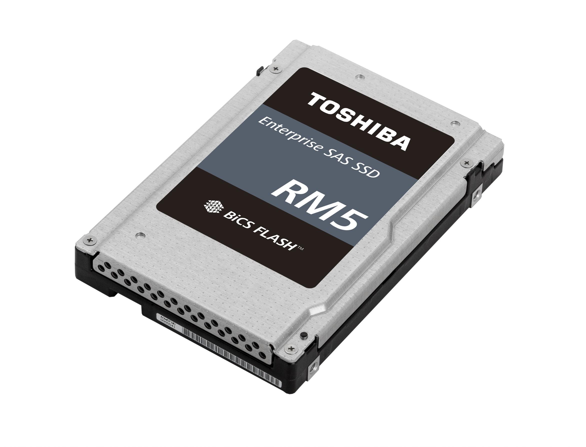 東芝記憶體公司將推出適用於 SATA 應用的 Value SAS SSD