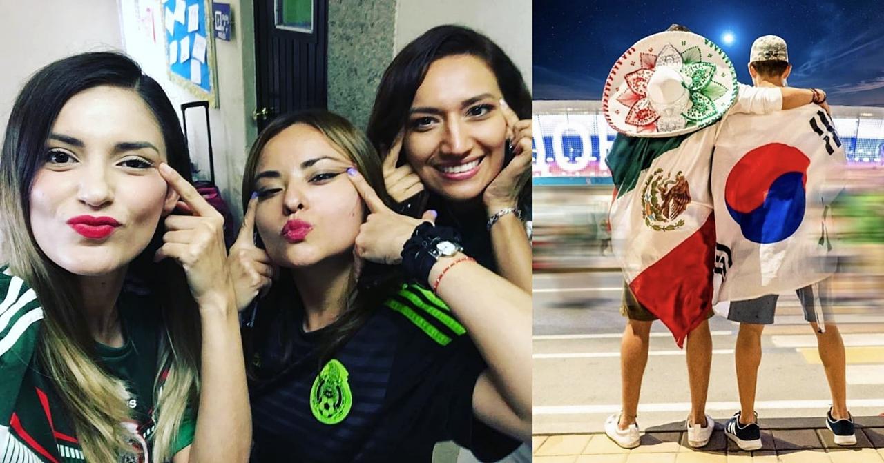 墨西哥球迷因進16強發起「我們都是韓國人」運動,但拉眼皮拍照卻讓韓國人更不開心了