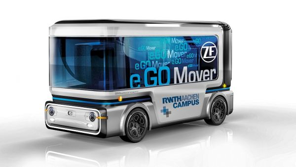 e.GO與ZF聯手推出無人輕型小巴e.GO Mover,預計2020年將投放至試驗區域,總數將突破「萬輛」!