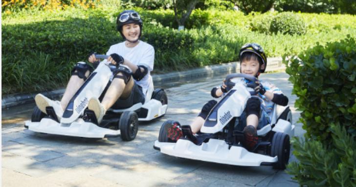 小米平衡車推出外掛套件,讓平衡車秒變卡丁車