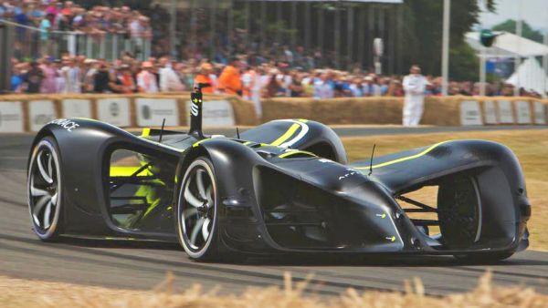 「無人版」閃電霹靂車!Robocar 電能全自動賽車現身 GoodWood 速度嘉年華