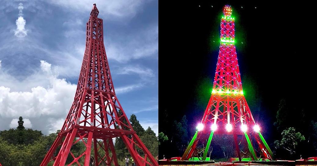 這是政府斥資1300萬打造的「巴陵鐵塔」,市議員:未來將媲美法國巴黎鐵塔