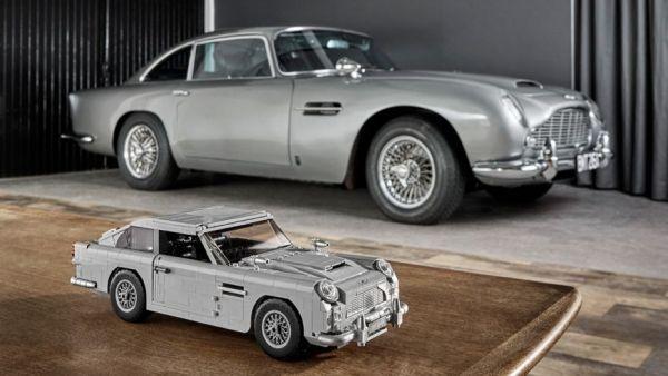 007經典坐駕Aston Martin DB5化身1/8大比例樂高,台灣8/1號正式上市!