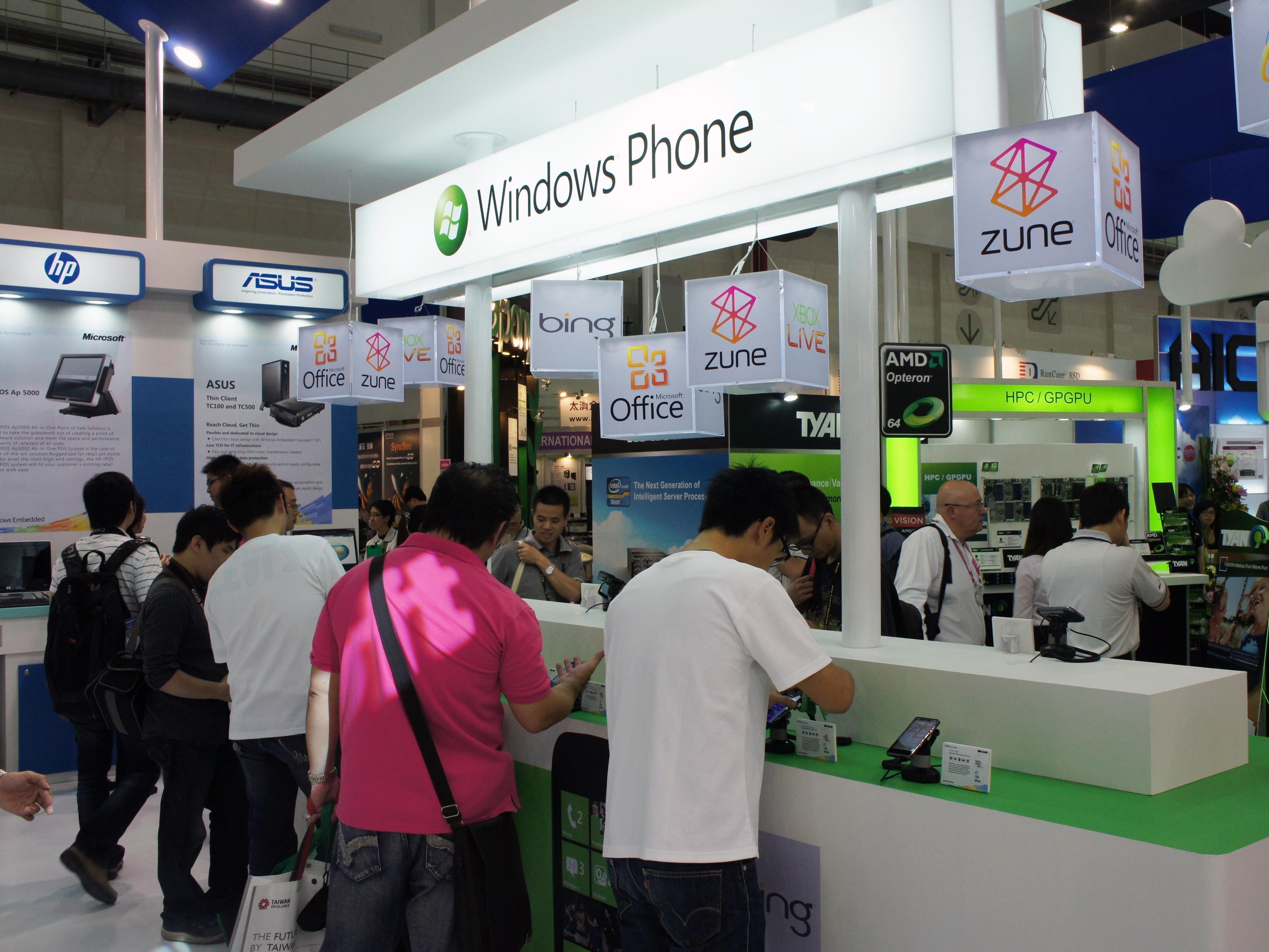 Computex 2011:Windows Phone 7 全員出動 + 新機 Acer W4