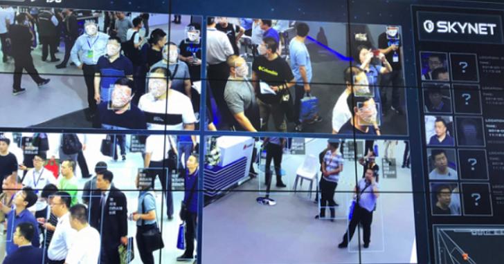 中國「天網」今年光在北京地鐵已抓獲1892名犯罪分子,人臉識別系統會自動偵測、報警