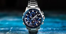 精準掌控時間、藍牙智慧運作,CASIO EDIFICE 全新錶款EQB-900DB-2A,不錯過任何黃金時刻