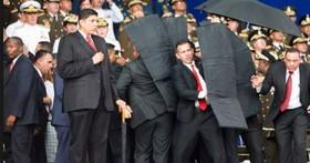 委內瑞拉總統演講時遭到無人機爆炸攻擊,成為首次無人機用來刺殺一國元首的先例