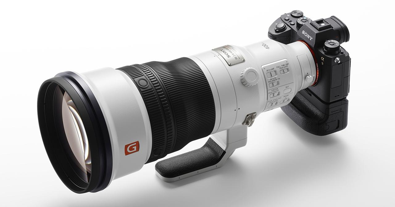 Sony E 環首顆全幅定焦砲上市,400mm F2.8 GM 售價 36 萬並採接單生產出貨