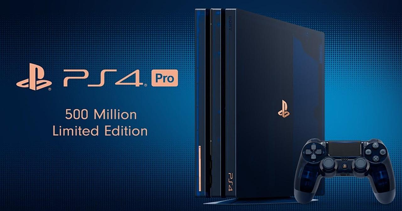 帥到讓人超想買!這是 PS4 Pro 500 Million Limited Edition 限量紀念款