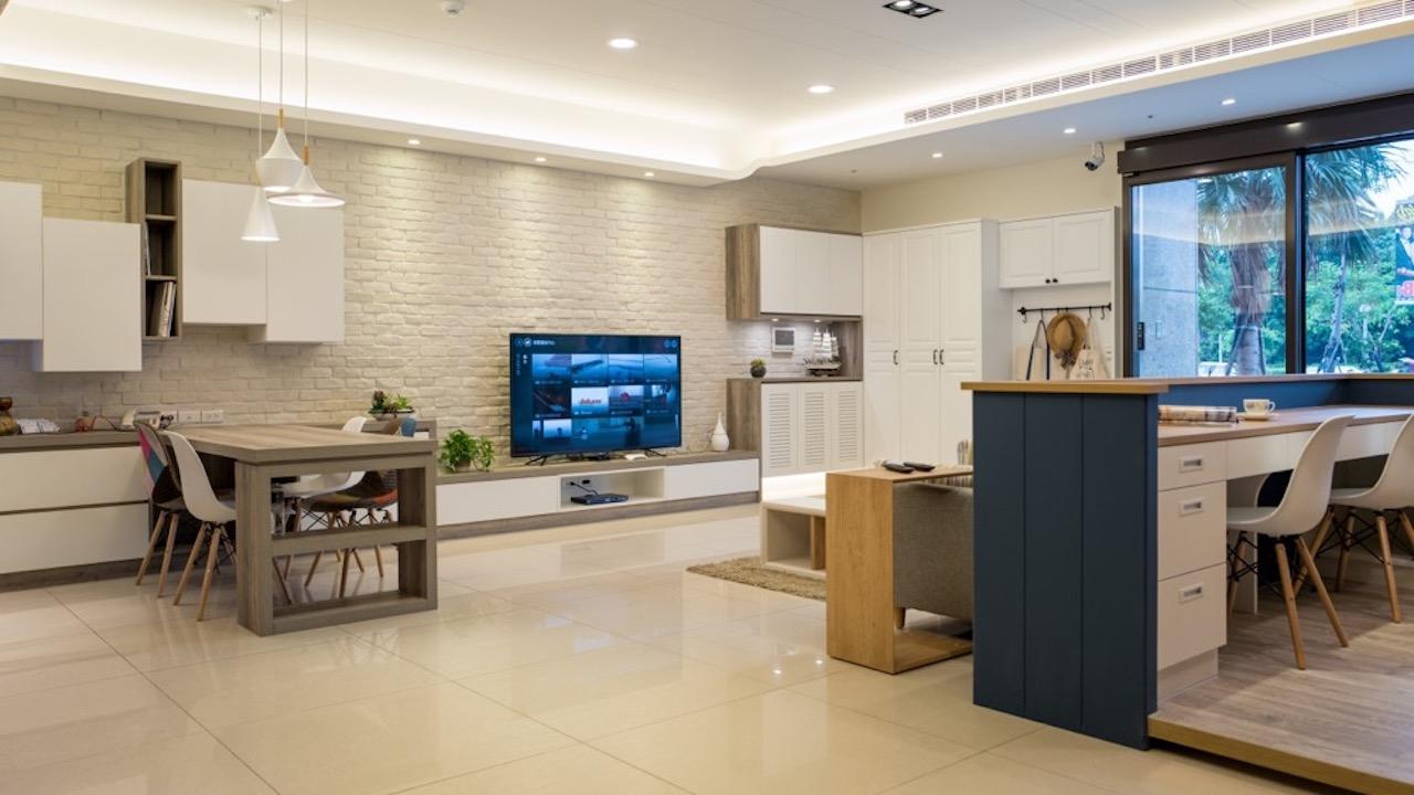 進來看看我們家!築晨簡約典雅北歐風系統傢俱。
