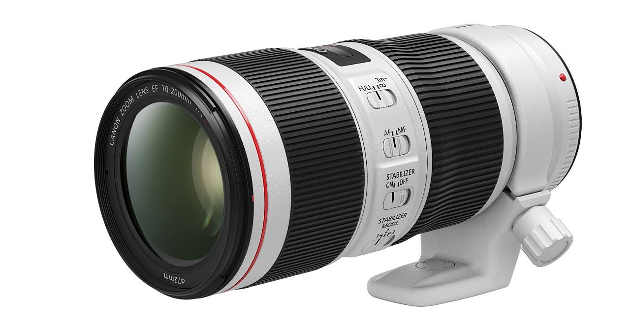 Canon EF 70-200mm f/4L IS II USM 小小白二代在台上市,售價 39,900 元