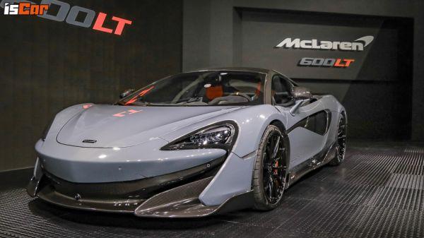 Longtail 長尾經典「道路版賽車」,McLaren600LT 火速登台展出!