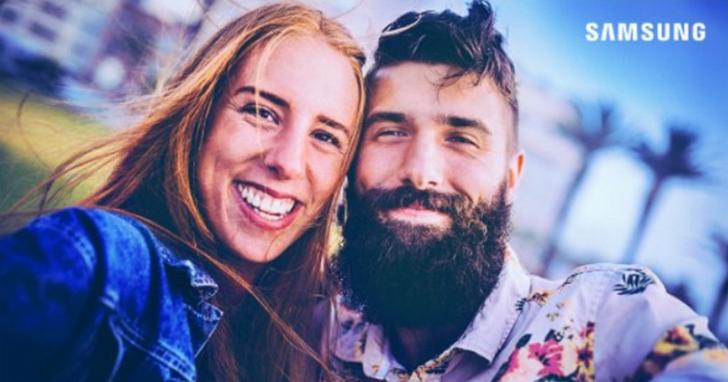 三星在巴西被踢爆,Twitter上宣傳Galaxy A8的情侶合拍照是圖庫買的