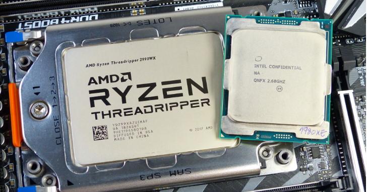 新台幣 12 萬元的戰場,AMD Ryzen Threadripper 2990WX 與 Intel Core i9-7980XE 處理器正面交鋒
