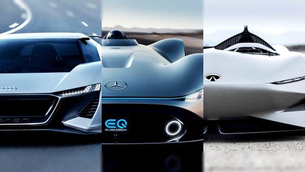 2018 圓石灘車展 Audi、Mercedes-Benz、Infiniti 超吸睛概念車同場齊發