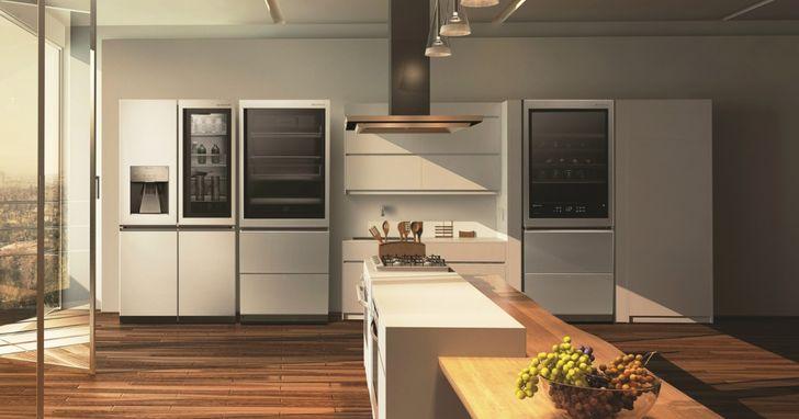 LG SIGNATURE自2016年發表以來,首推頂級乾衣機和冰箱