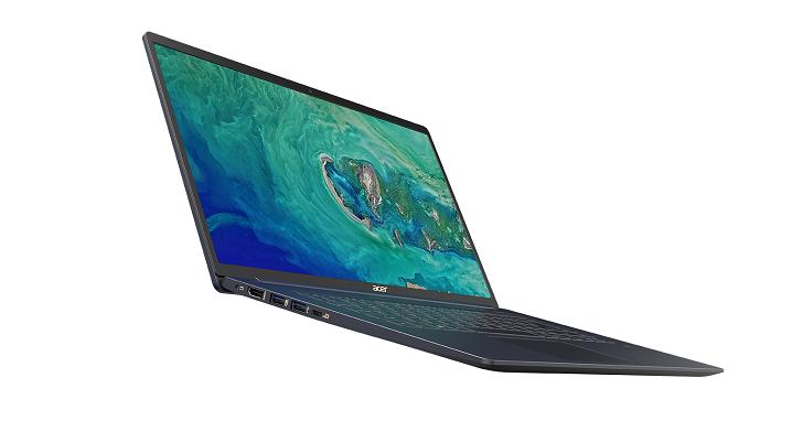 Acer 發表全球最輕 15.6  吋筆電,Swift 5 重量只有 990 公克