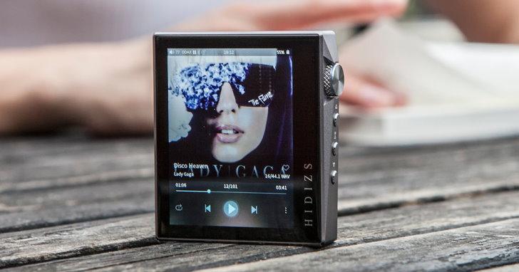 輕巧美型Hi-Res隨身聽Hidizs AP80,最高支援32/384、DSD 128格式
