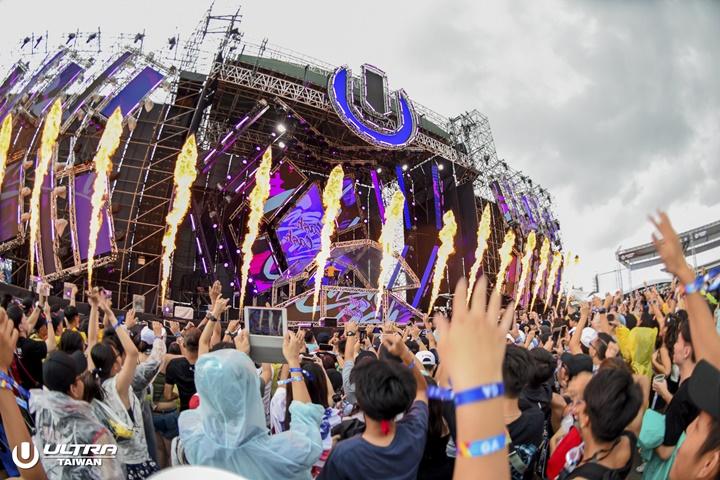 雨彈、重拍炸翻台北城!ULTRA Taiwan 2018 連兩日電音神曲「洗滌」Raver身心靈