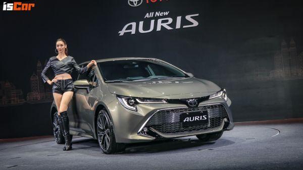 「真・運動神A」正式降臨,Toyota Auris 首波雙車型「83.9萬元」起即日發售!