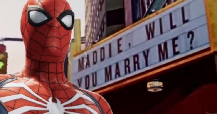 別人的悲劇成為他的喜劇,有玩家利用《漫威蜘蛛人》悲劇彩蛋求婚成功,向苦主致意