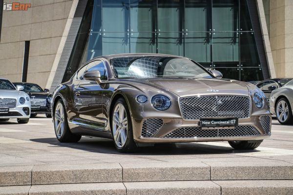 奢華轎跑Bentley Continental GT首波台灣配額30台,15台到港新車共同歡慶Bentley創立百週年!