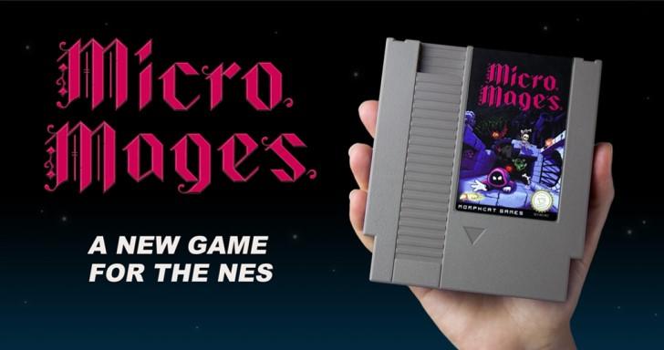 同人玩家開發全新紅白機遊戲Micro Mages,挑戰將遊戲容量壓縮至40KB