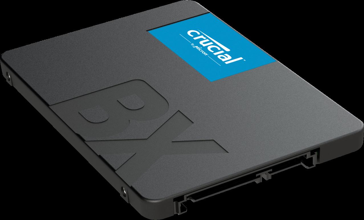 Crucial拓展新一代SSD 產品組合BX500 固態硬碟上市!讓啟動速度更快、程式下載更快、電池壽命更長