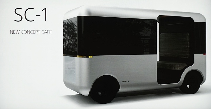 Sony黑科技不藏私,直擊 New Concept Cart SC-1 無人車 可遠端遙控代駕