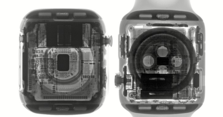 Apple Watch Series 4 拆解:這是內部和外部看起來一樣優雅的設備