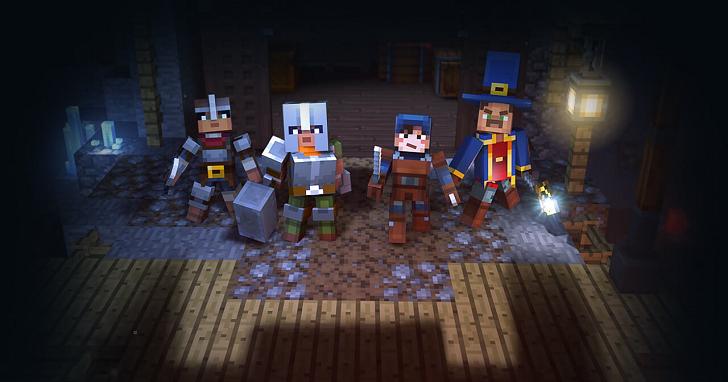 組隊打怪刷地城,《Minecraft》全新模式「地下城」明年登場