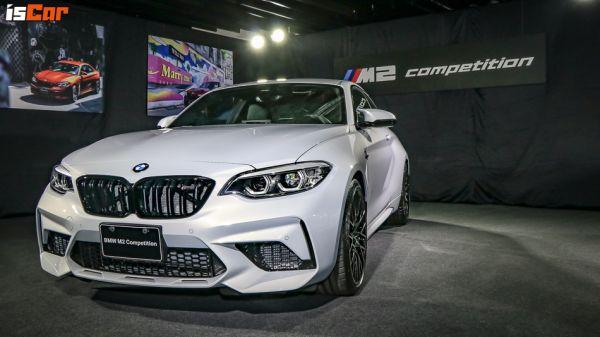強心小隻馬,BMW M2 Competition正式發表,售價385萬元!