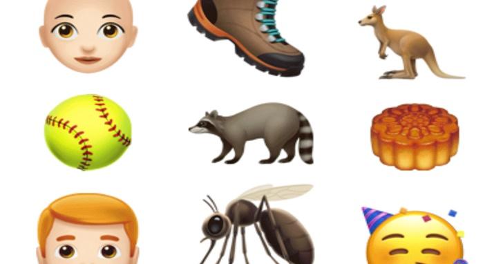捲髮、銀髮族與超級英雄全上榜!蘋果最新iOS 12.1公測版中為iPhone新增70個趣味表情符號