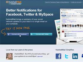 facebook訊息看不完?NutShellMail幫你整理寄送重要資訊